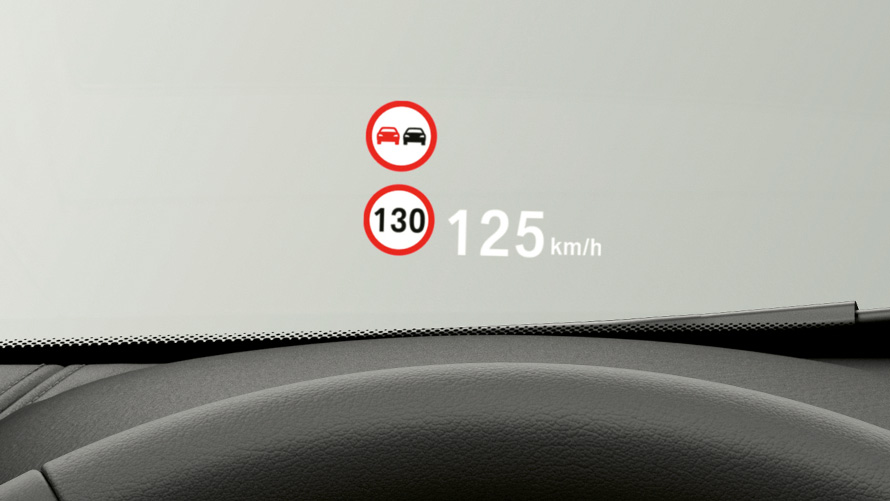 BMW Head-Up Display.